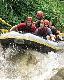Chiang Mai ride and rafting adventure