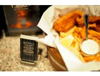 Signature Fish&Chips & Bottle of wine