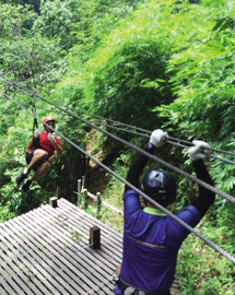 Chiang Mai ride and Zipline adventure