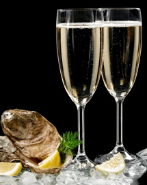 Oyster & Champagne Delight