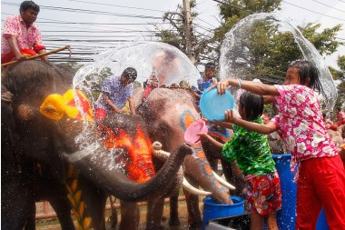 Songkran Splash Out