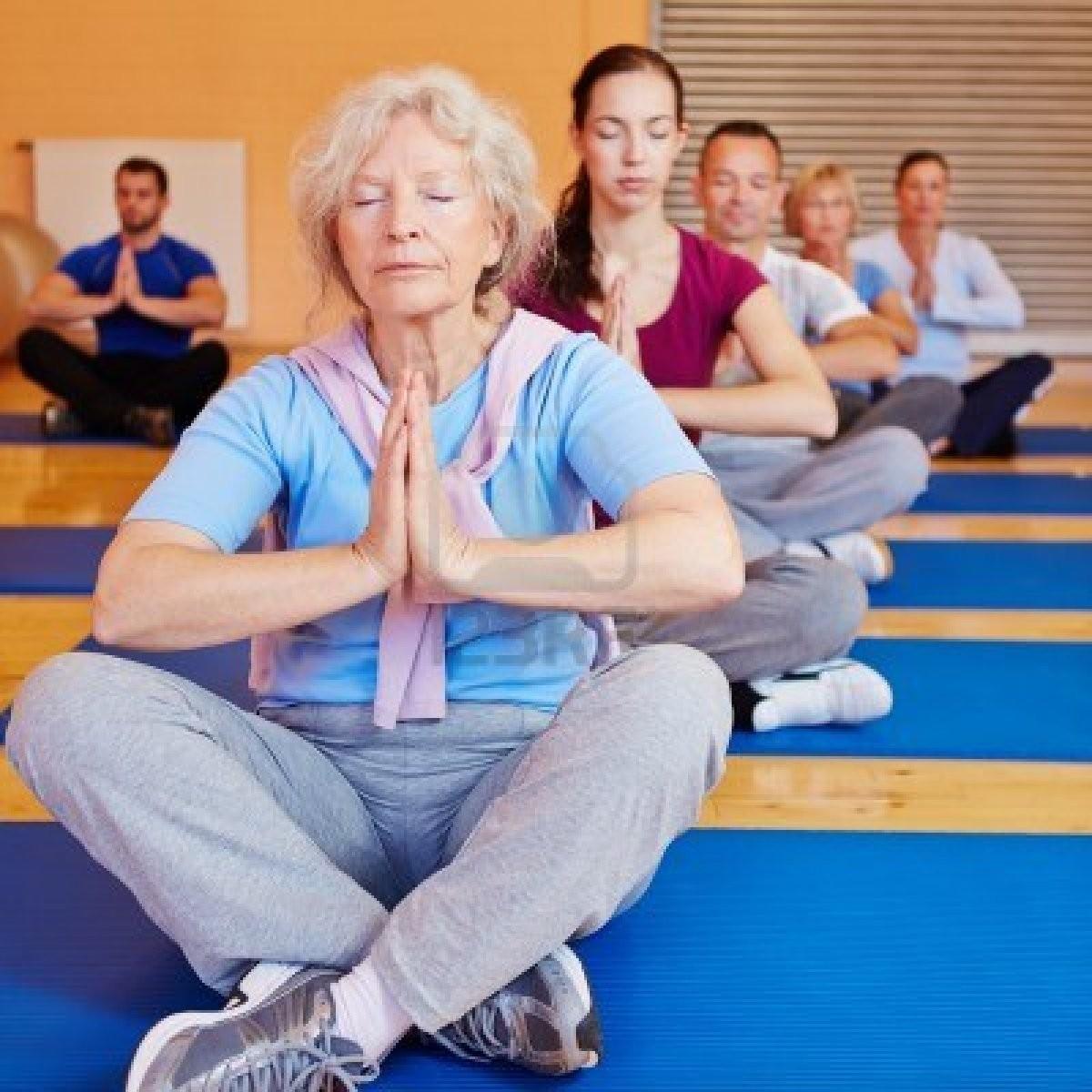 Yoga for elderly (Couples)